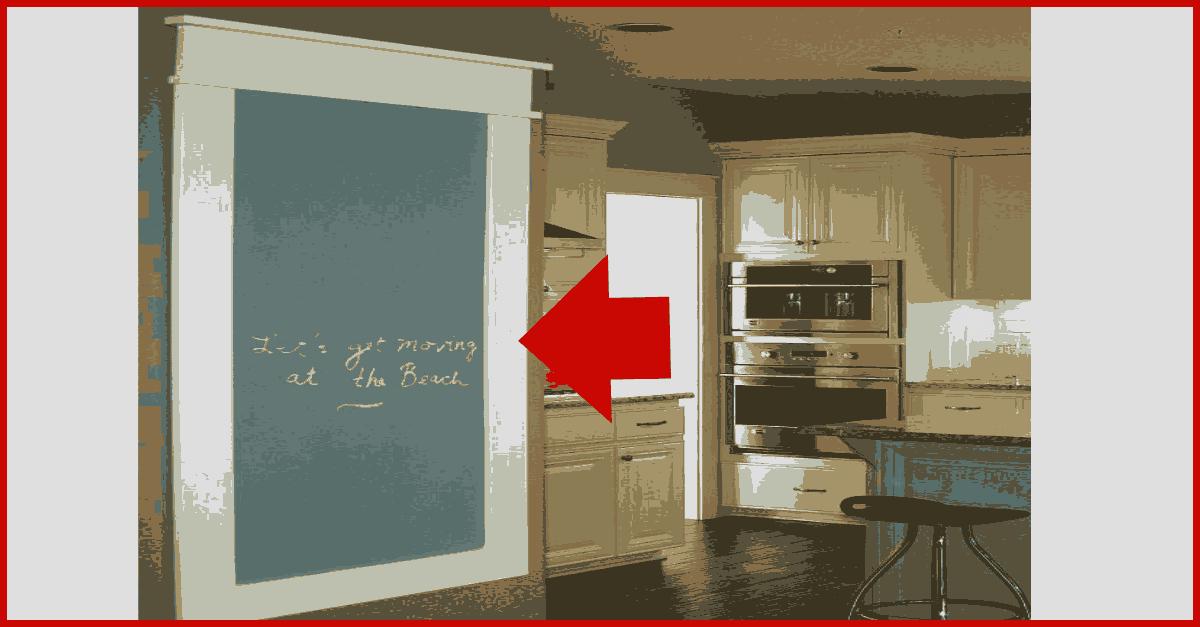 kitchen message board1