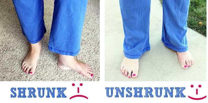 Unshrink-Clothes
